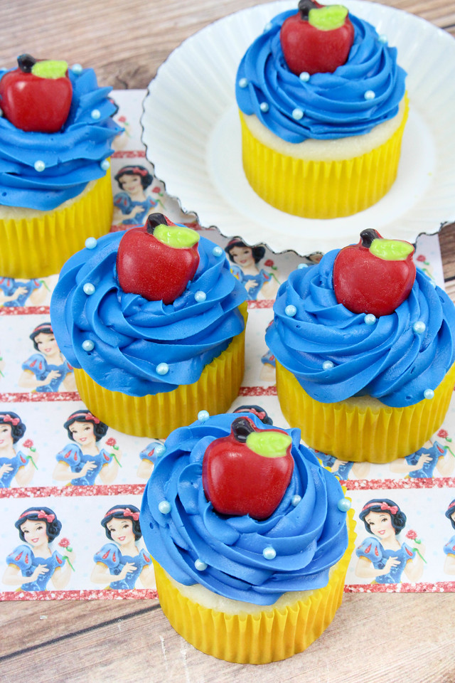 Mirror, mirror - on the wall. These Snow White Cupcakes are truly the fairest of them all. Make them in just six steps, with six easy, delicious ingredients