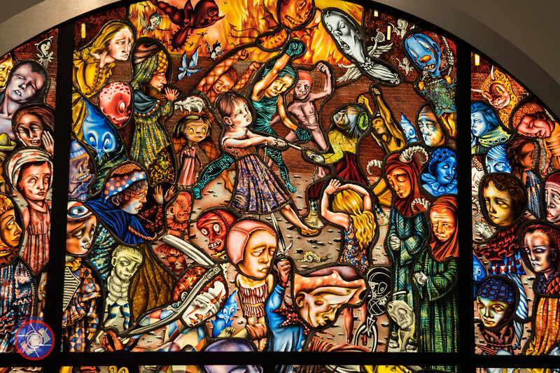 Stained Glass Panel in the Memorial Art Gallery (©simon@myeclecticimages.com)