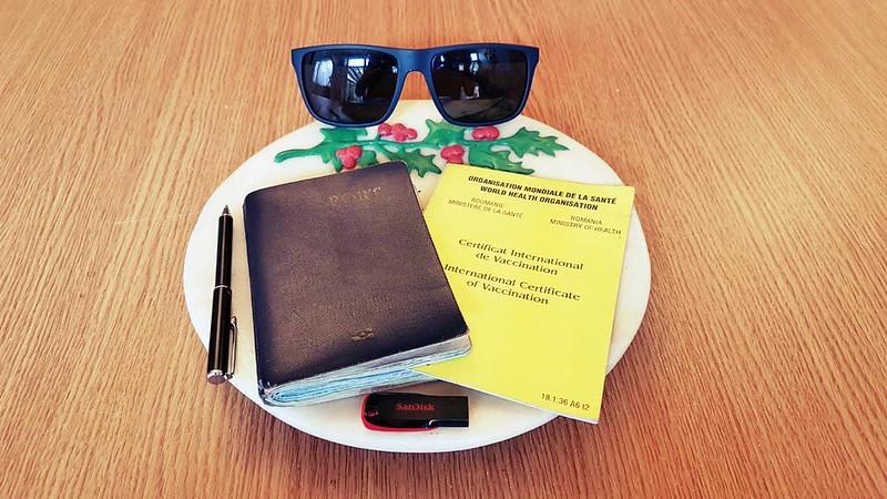 Full-time traveler - passport and stuff