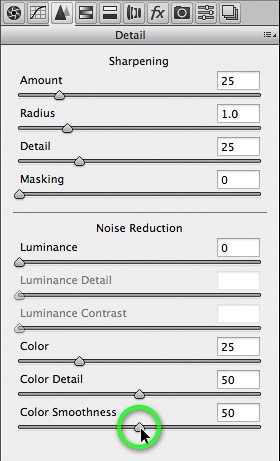 Color Smoothness option