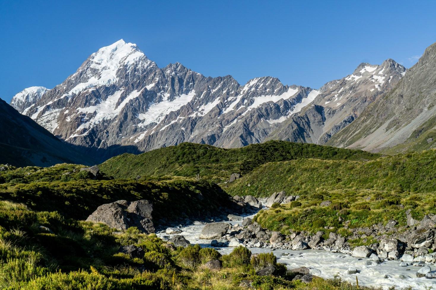 New Zealand - Aoraki Mount Cook National Park