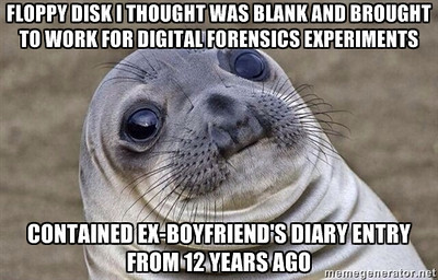 Awkward Seal meets Digital Forensics