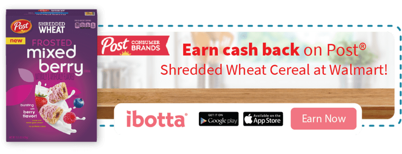 Enjoy three new varieties of Post Shredded Wheat and enjoy this amazing ibotta offer. Make way for a better breakfast #ad #PerfectionWithPost #CerealAnytime