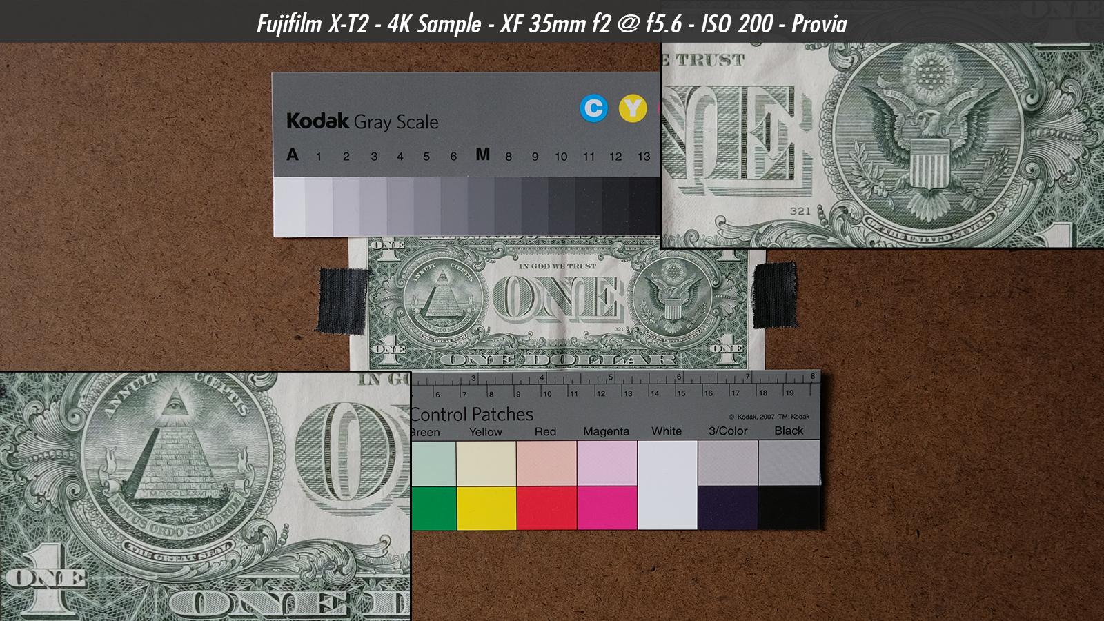 Fujifilm X-T2 4K Video Resolution Sample