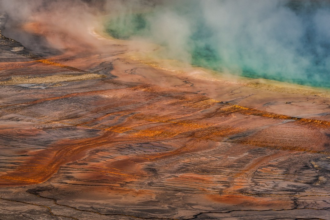 Grand Prismatic Spring Yellowstone National Park Wyoming