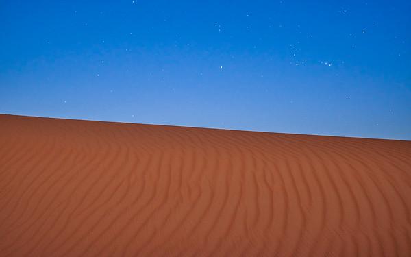 In a desert land