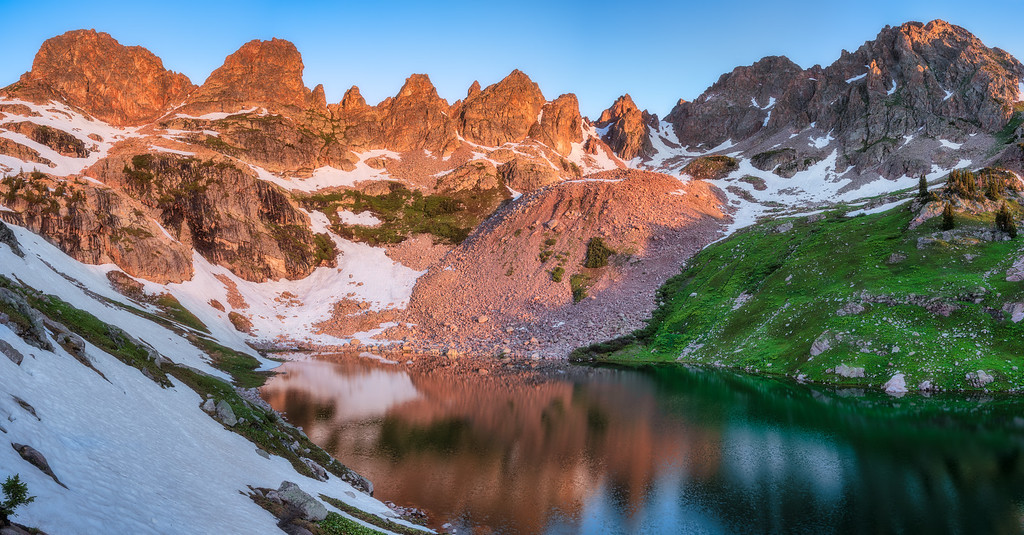 Backpacking Willow Lakes
