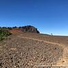 On the summit plateau