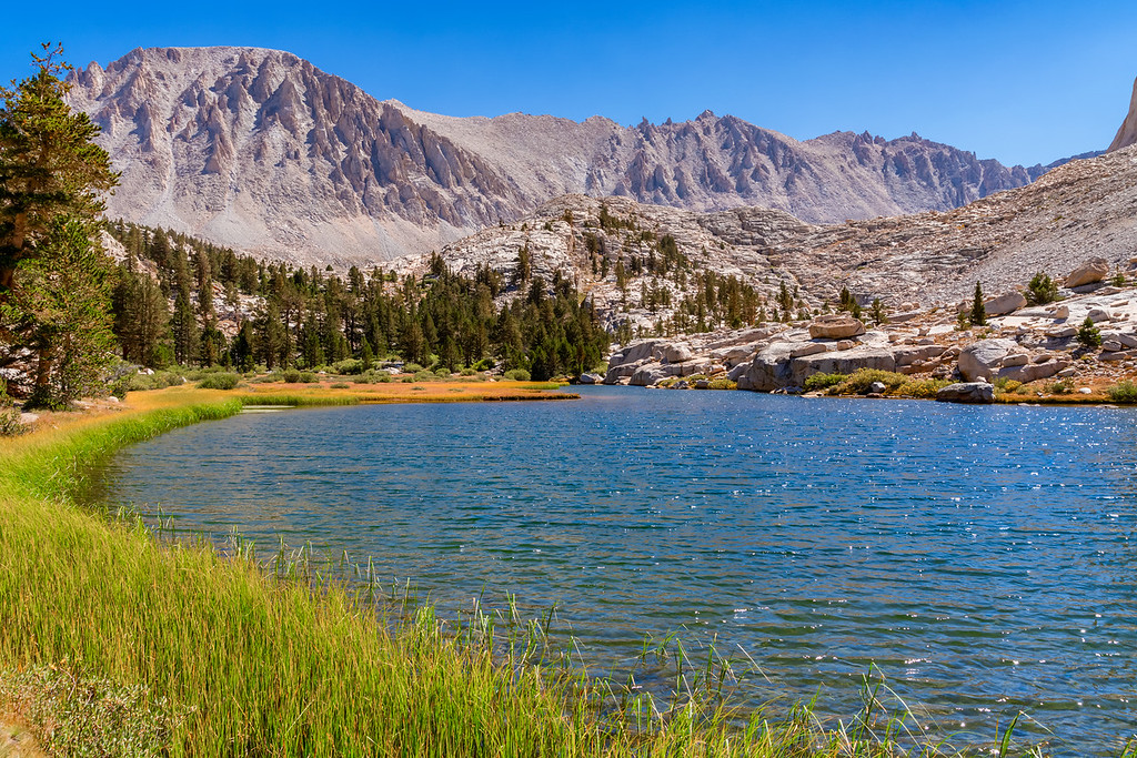 Timberline Lake Lake High Sierra Trail Sequoia National Park