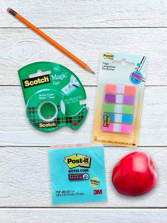 new school supplies