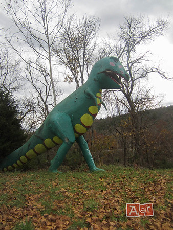 Dinosaur Park Arkansas : dinosaur, arkansas, Dinosaur, World, Abandoned, Arkansas