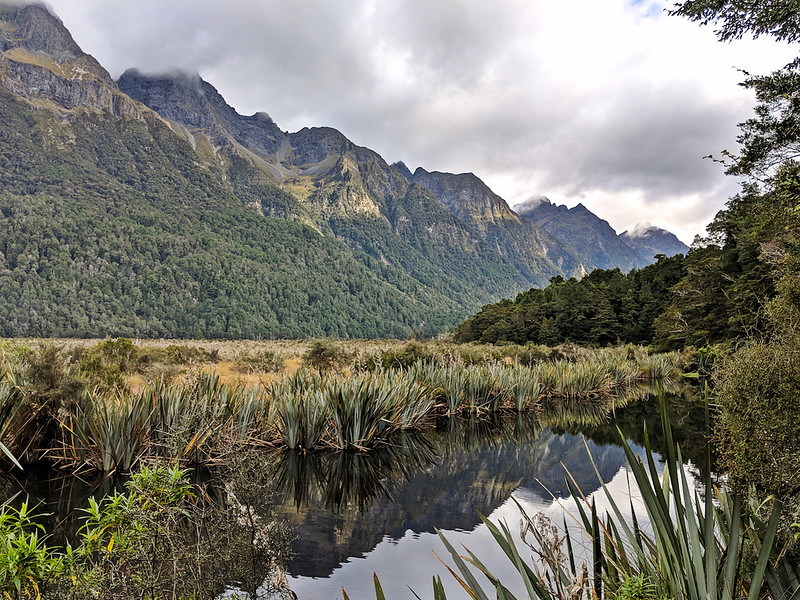 8 Day New Zealand Road Trip - Mirror Lakes
