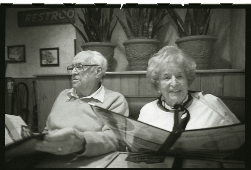 grandparents at TooJay's cafe
