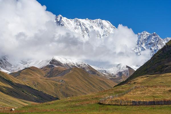 Our walk to Mount Shakara starts here
