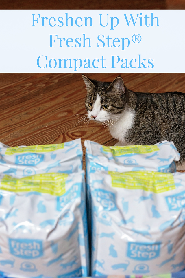 Discover the freshness of Fresh Step® Compact Packs and enjoy the benefits of the Fresh Step® Paw Points® Rewards Program. #cats #FreshStepCompactPack AD