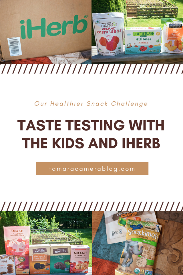 We had such a blast taste testing healthier snacks from iHerb. Make sure you watch the  video! New customers can get a discount off their iHerb order! #ad