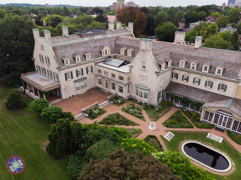 Aerial View of the George Eastman Mansion (©simon@myeclecticimages.com)