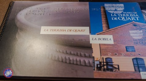 The Braille Book in Catalan Describing the Museum (©simon@myeclecticimages.com)