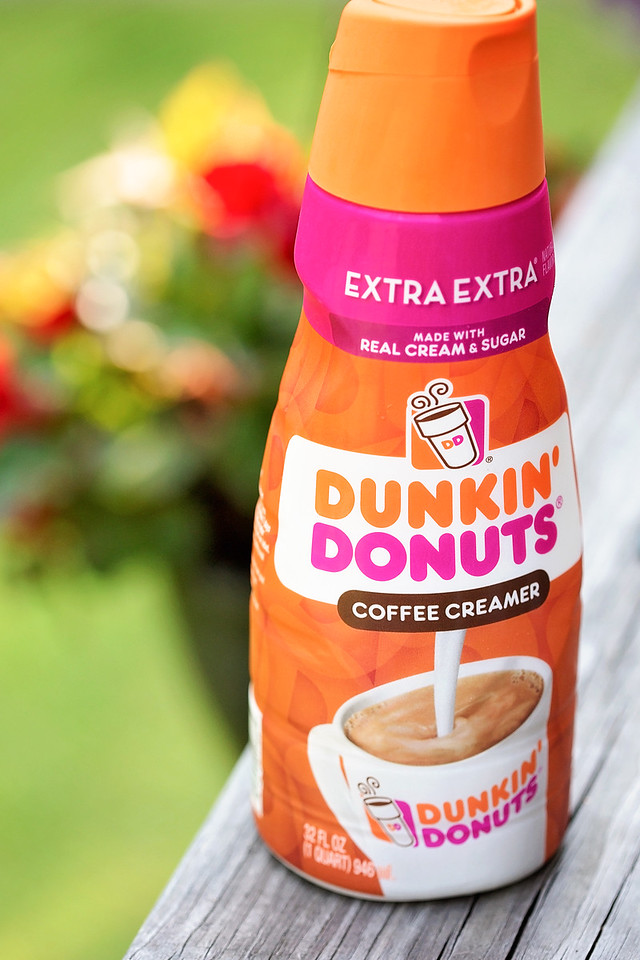 Dunkin' Donuts Extra Extra creamer is what everyone is talking about. Made with real cream, real sugar, and now in two new flavors, Vanilla Extra Extra and Caramel Extra Extra, this creamer is taking the coffee world by storm.