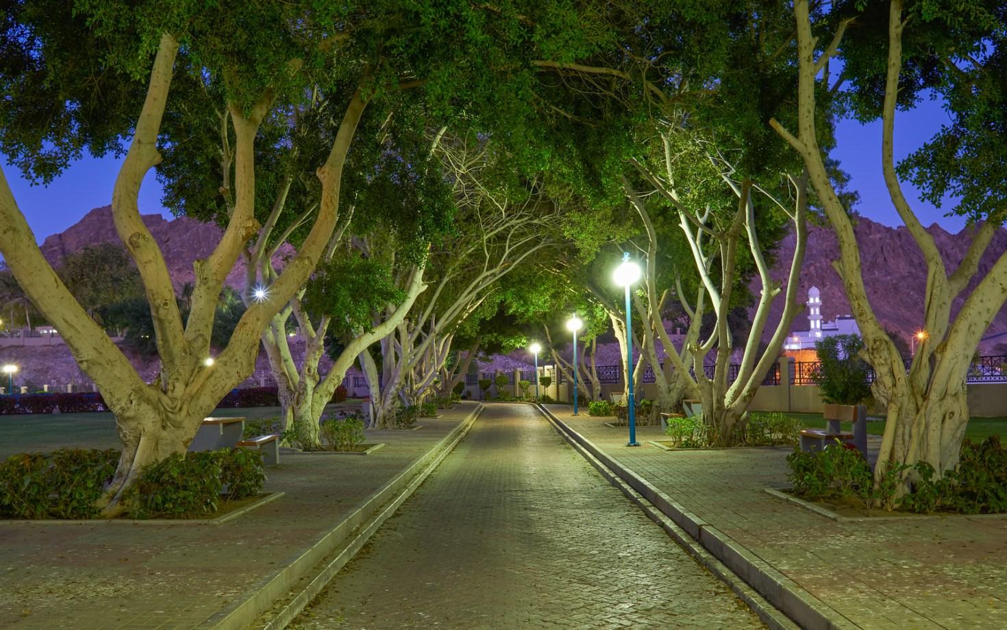 Oman, Muscat - Riyam Park Mutrah