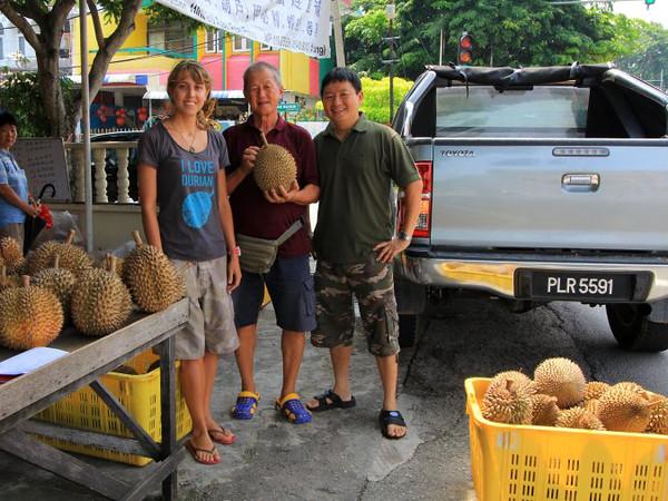 Poh Beng Durian Stall