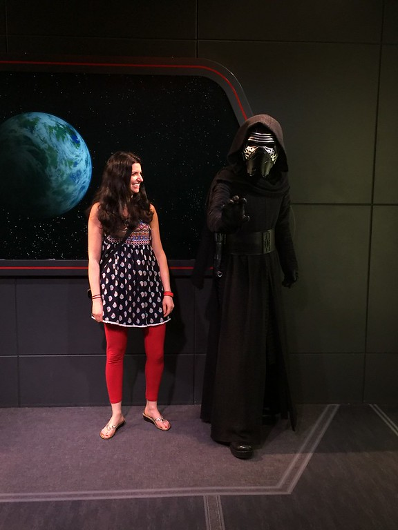 Kylo Ren at Galaxy's Edge Hollywood Studios Disney World