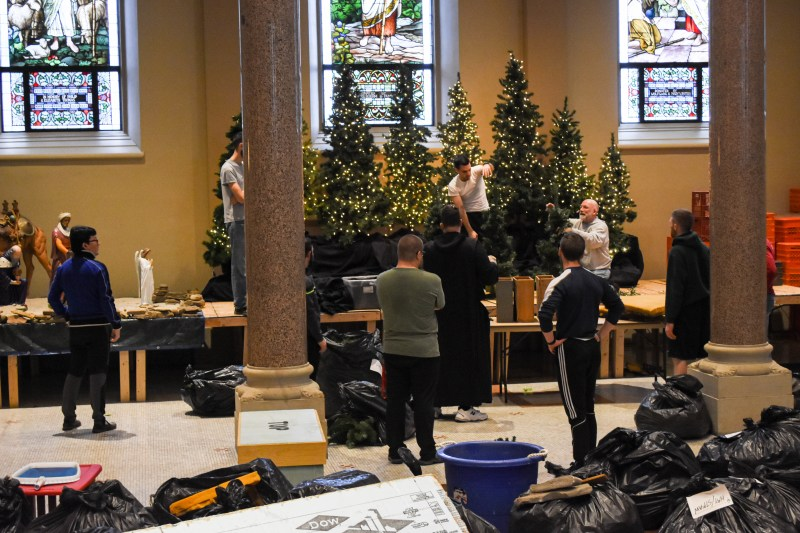 2019 Setting Up the Creche
