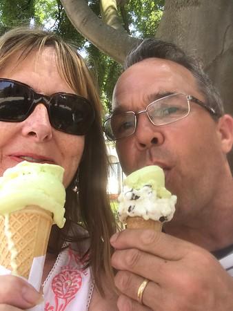 Ice creams were truly delicious