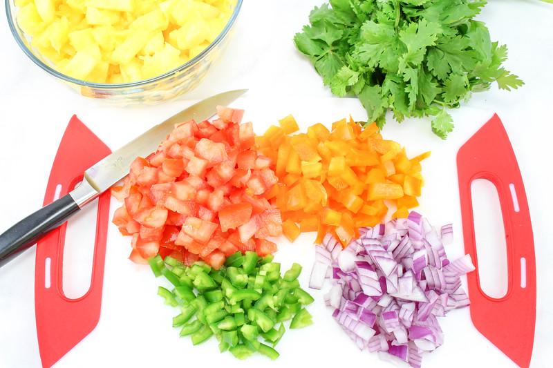 Pineapple Salsa Step 2