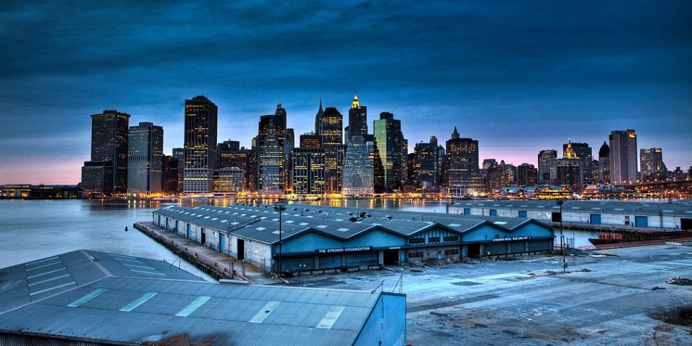 Skyline from Brooklyn Promenade