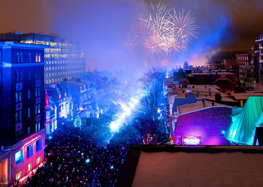 Toboggan Festival, The Best New Year's Festival in Quebec City, and Canada!