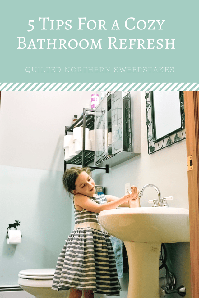Vote for your favorite bathroom design and win big! #sweepstakes Also read our 5 ways to do a quick, budget-friendly bathroom refresh #ad #MegaSummerRefresh