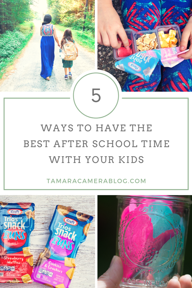 Here are 5 Ways to Have the Best After School Time With Your Kids. This is a special time for us and we want to make it as fun as we can! #ad #FamilyGreatly