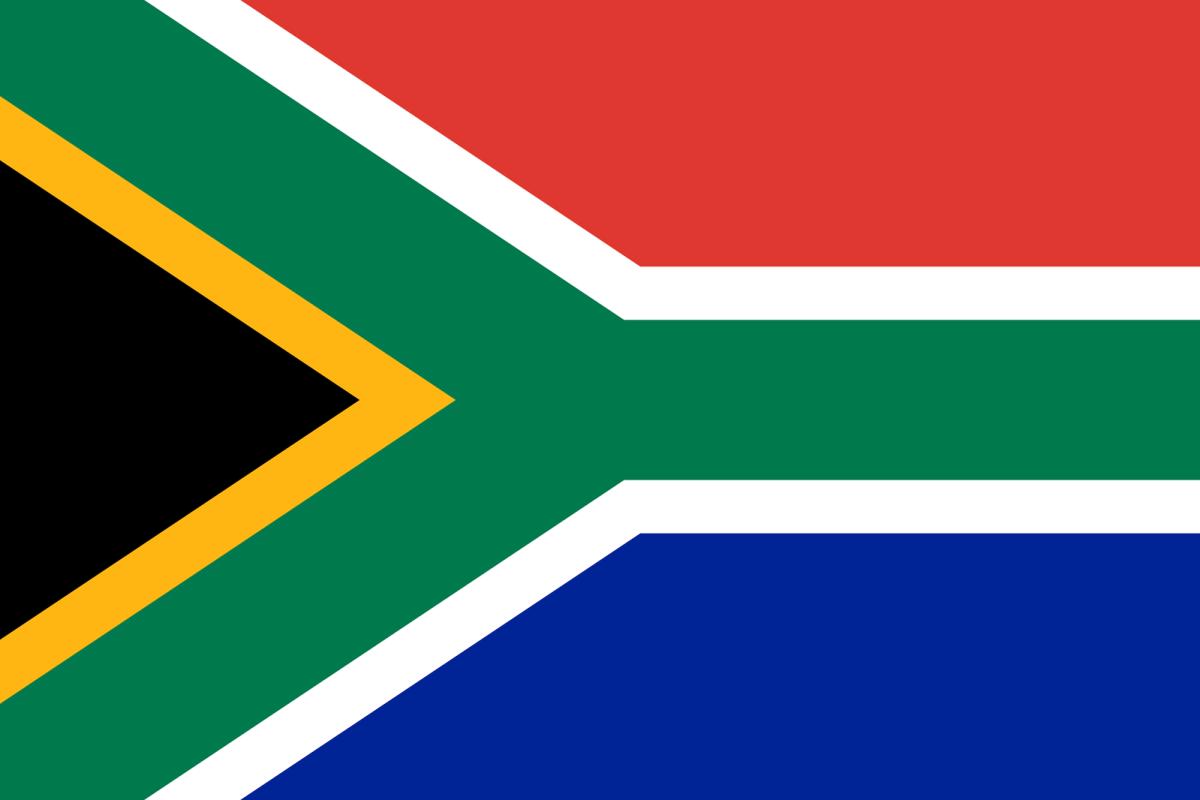 sydafrikas flag
