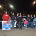 UMP national point leader, Torin Mettille scored his third Pro Late Model win at Farmer City Raceway