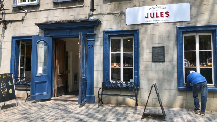 Trouvailles de Jules in Old Quebec City