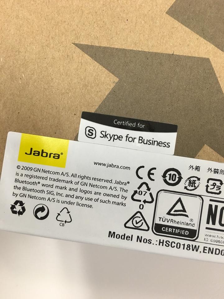 Jabra Evolve 65 headset