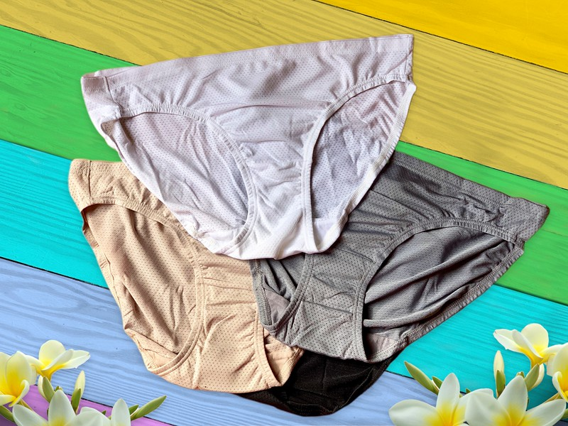 flat lay underwear
