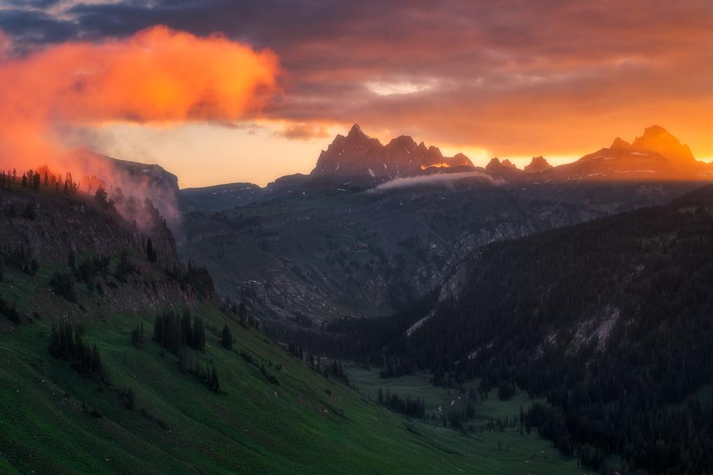 Death Canyon Teton Crest Trail Grand Teton National Park Wyoming