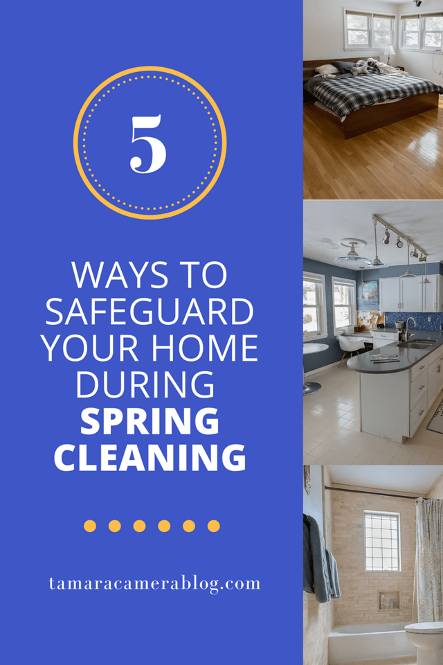 Ah, spring. So wonderful. So warm. So sunny. And such a reason to celebrate all the lovely spring things with this checklist of ways to safeguard your home during spring cleaning. #ad #cordlessforkids #IC