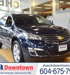 2017 chevrolet traverse for sale in vancouver british columbia  [ 1050 x 787 Pixel ]