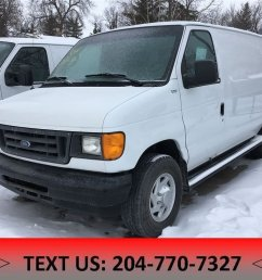 2006 ford econoline cargo van for sale in winnipeg manitoba  [ 1050 x 787 Pixel ]