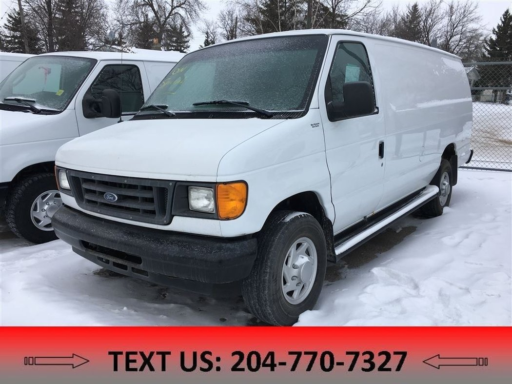 hight resolution of  2006 ford econoline cargo van for sale in winnipeg manitoba