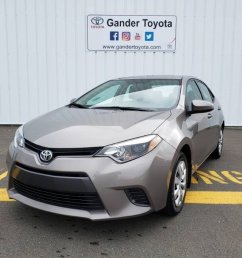 2015 toyota corolla for sale in gander newfoundland and labrador  [ 1050 x 787 Pixel ]