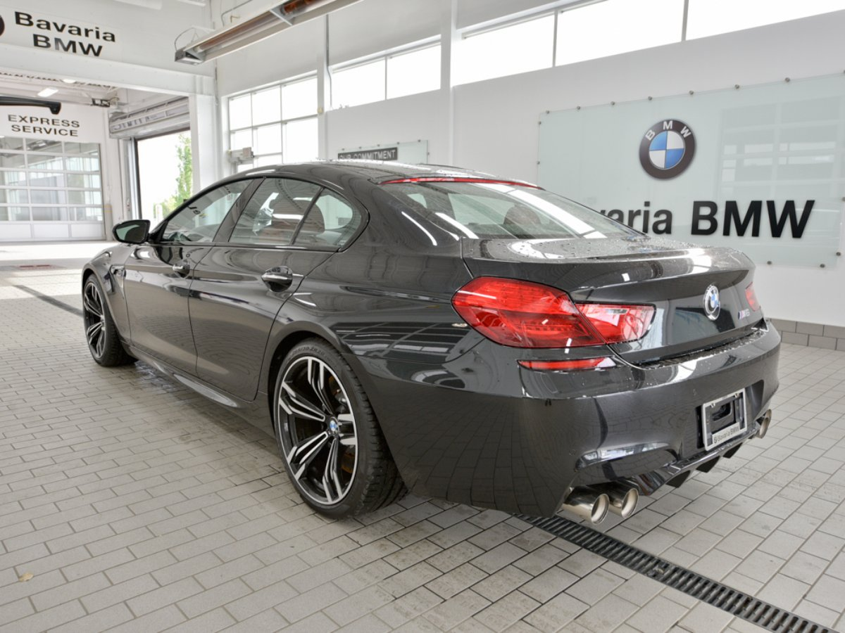 2018 BMW M6 GRAN COUPE for sale in Edmonton, Alberta