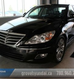 2011 hyundai genesis sedan for sale in spruce grove alberta [ 1200 x 800 Pixel ]