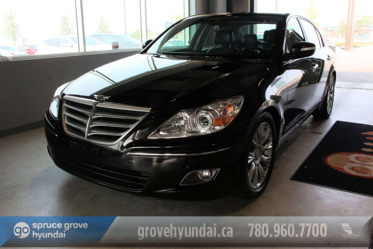 hight resolution of 2011 hyundai genesis sedan for sale in spruce grove alberta