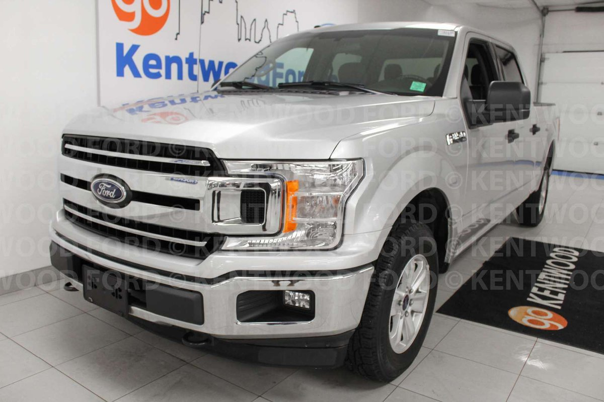 hight resolution of meet our exceptional 2018 ford f 150 xlt supercrew 4x4 shown off in ingot silver powered by a proven 5 0 litre v8 that offers 395hp while paired with an
