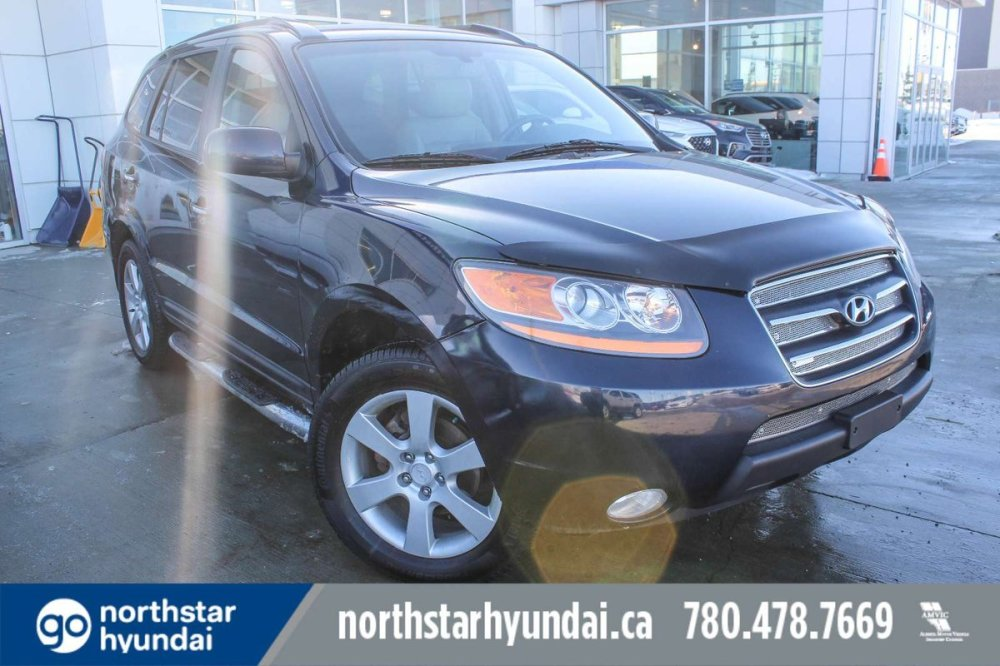 medium resolution of engineered with visionary design and fashionable function our 2008 hyundai santa fe limited awd shown in blue is top of the line