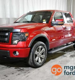 finally enjoy your drive to work in this loaded mint condition 2014 ford f 150 fx4 with heated cooled front seats leather navigation backup camera  [ 1200 x 770 Pixel ]